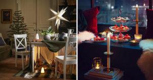 Arredare salotto con IKEA a Natale.