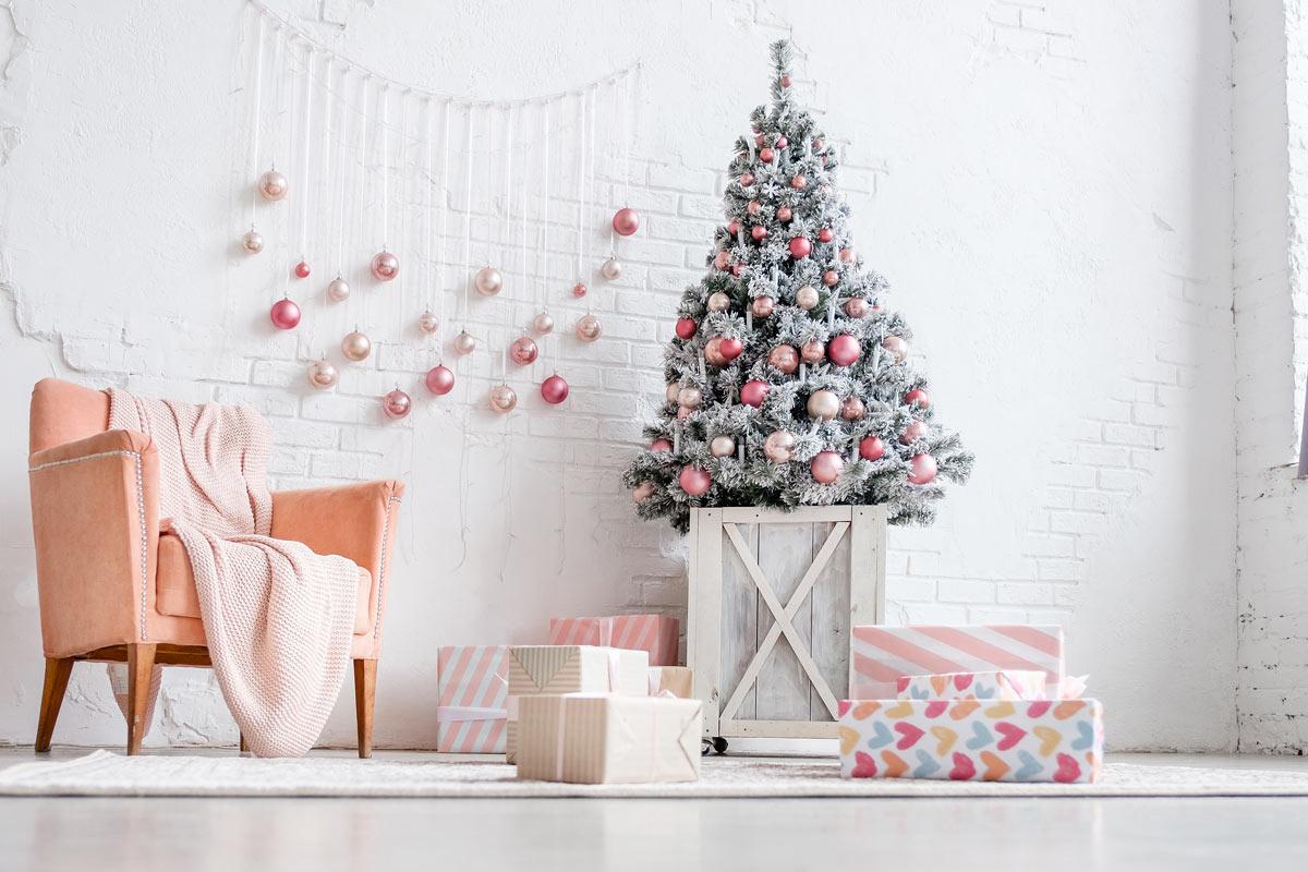Le decorazioni natalizie Shabby per la casa