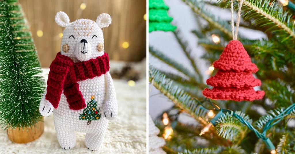 Lavoretti Di Natale Con Uncinetto.Le Decorazioni Natalizie All Uncinetto 12 Idee Fai Da Te