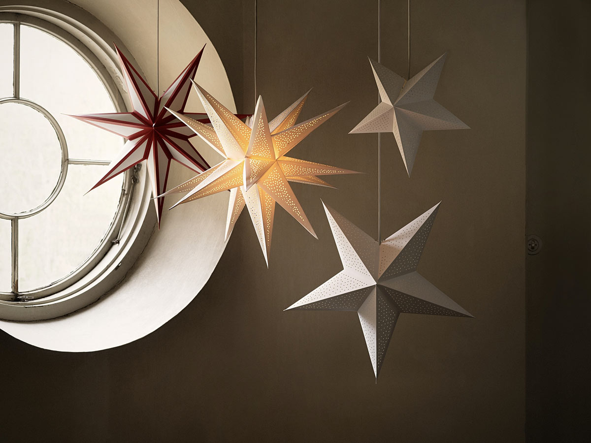 Illuminazioni natalizie IKEA 2020