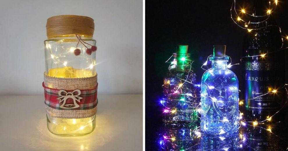 Lanterna natalizia fai da te con il riciclo creativo