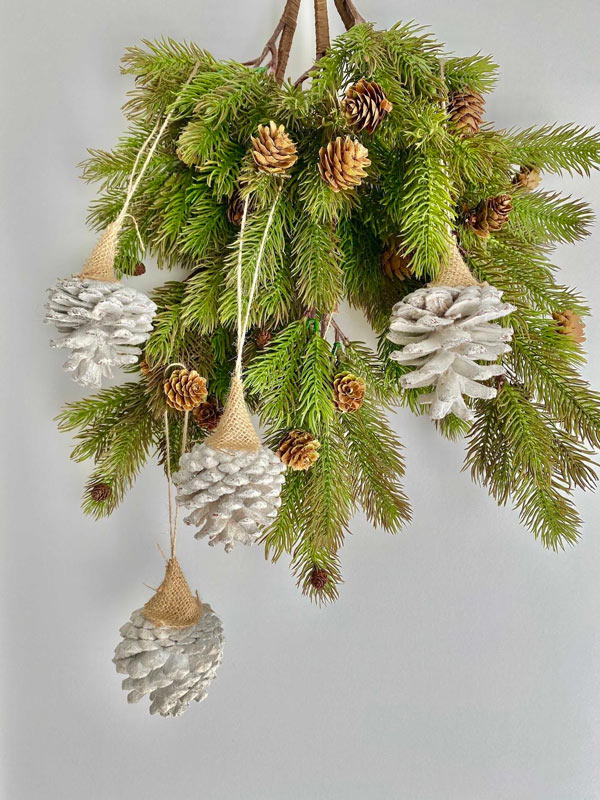 Un albero di Natale ecologico.