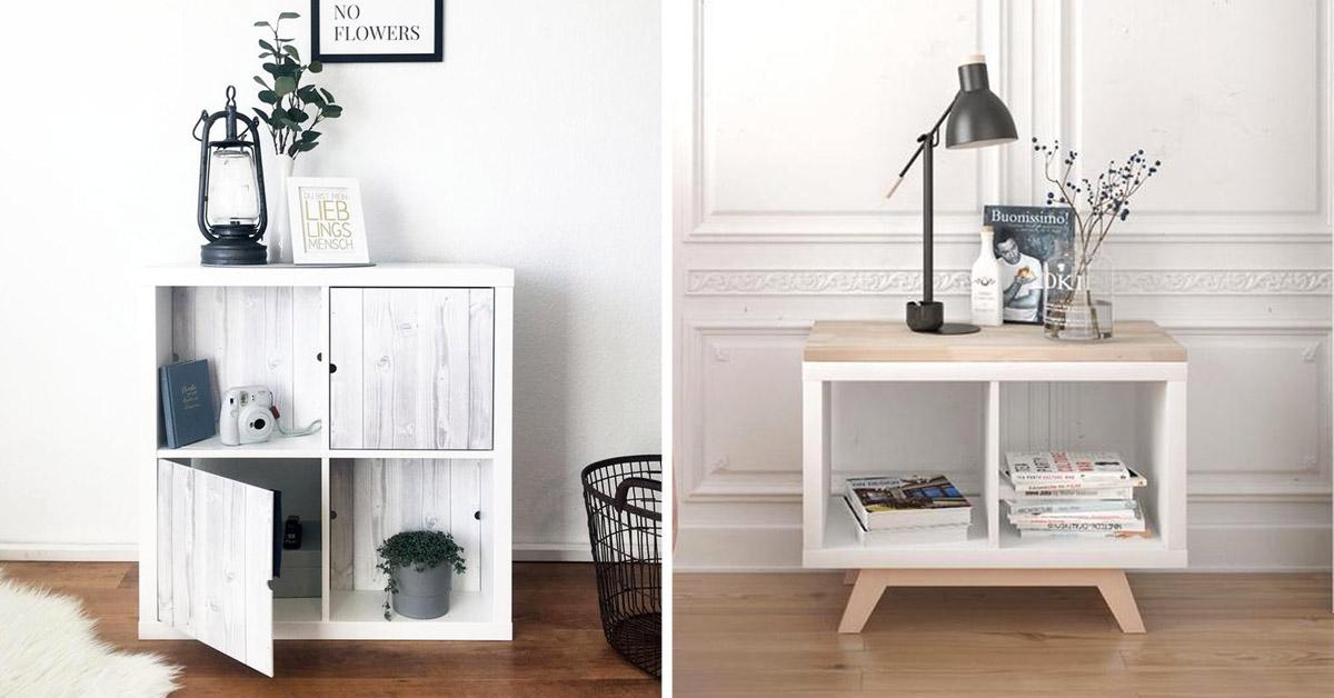 Mobili IKEA trasformati col fai da te.