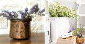 vaso stile provenzale