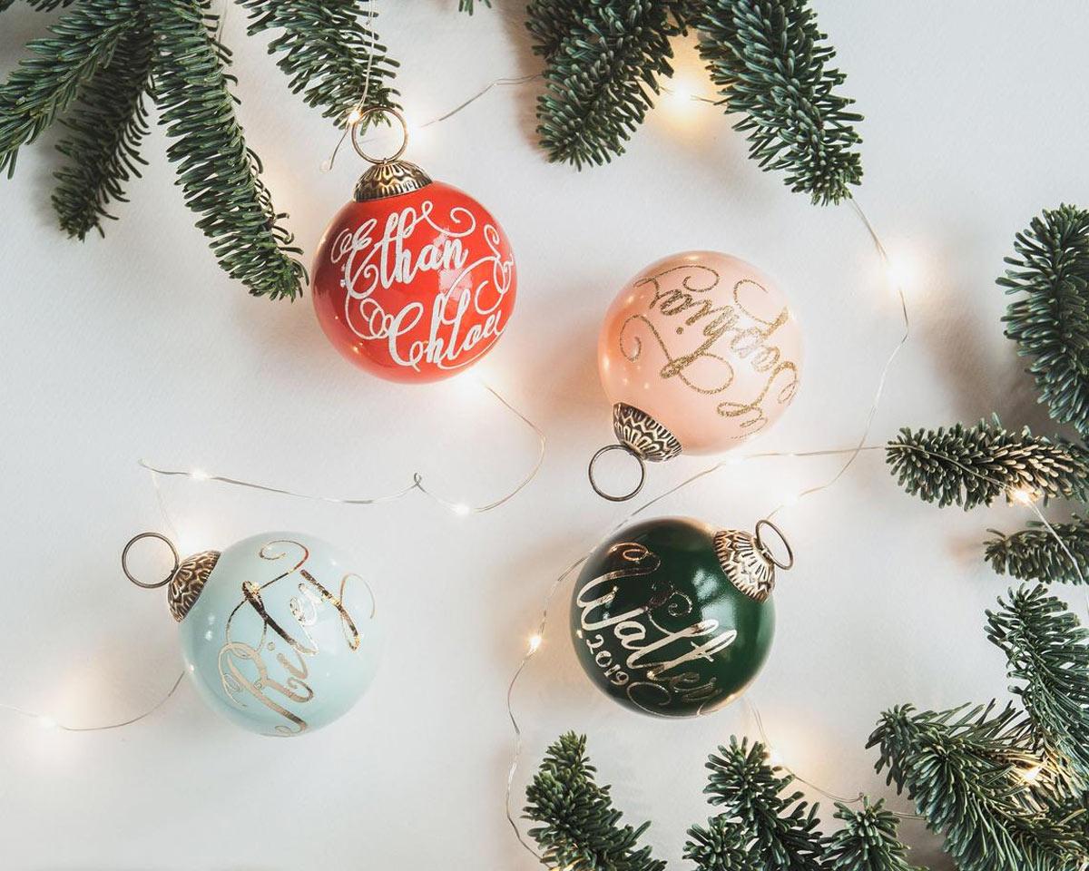 Le decorazioni vintage per Natale