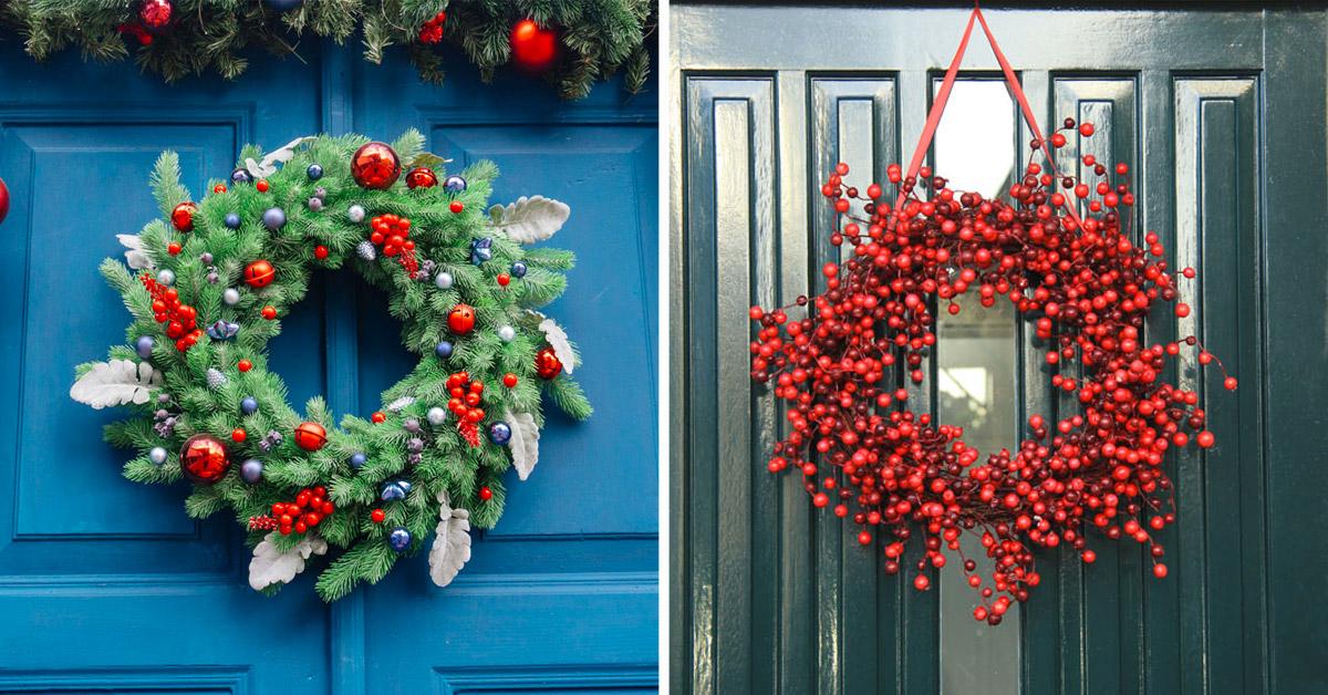 Fuoriporta natalizio idee.