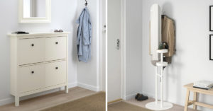 Ingresso IKEA stile scandinavo