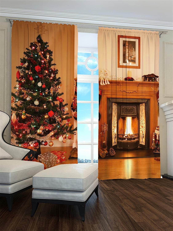Le tende natalizie per il salotto