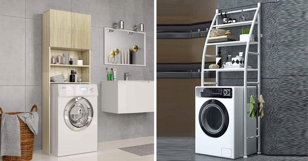 mobile sopra lavatrice
