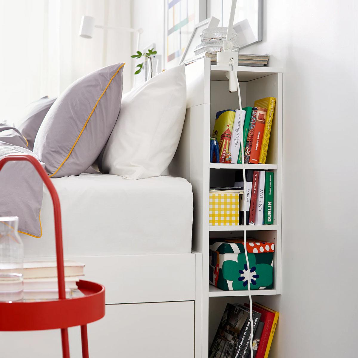 testata letto IKEA