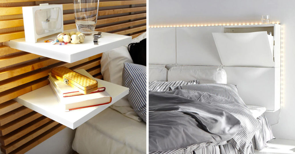 Testata letto IKEA.