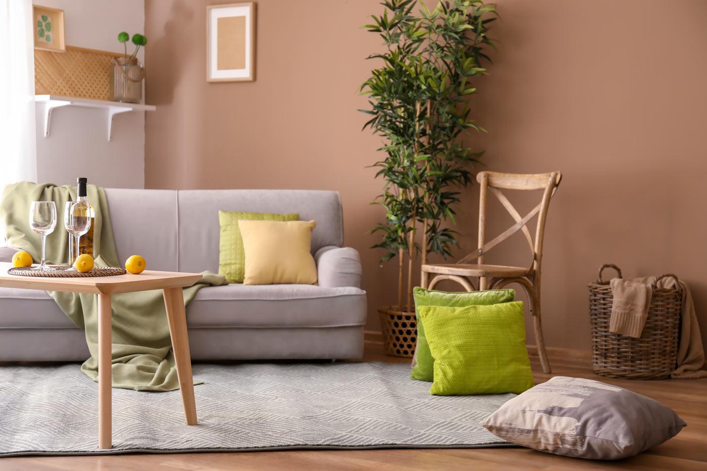 abbinare il colore delle pareti ad un arredamento legno chiaro