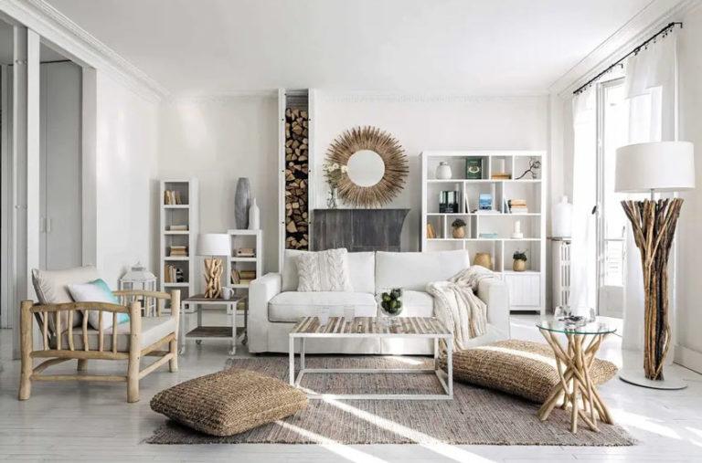Arredare le pareti del soggiorno con le mensole: 10 idee ...