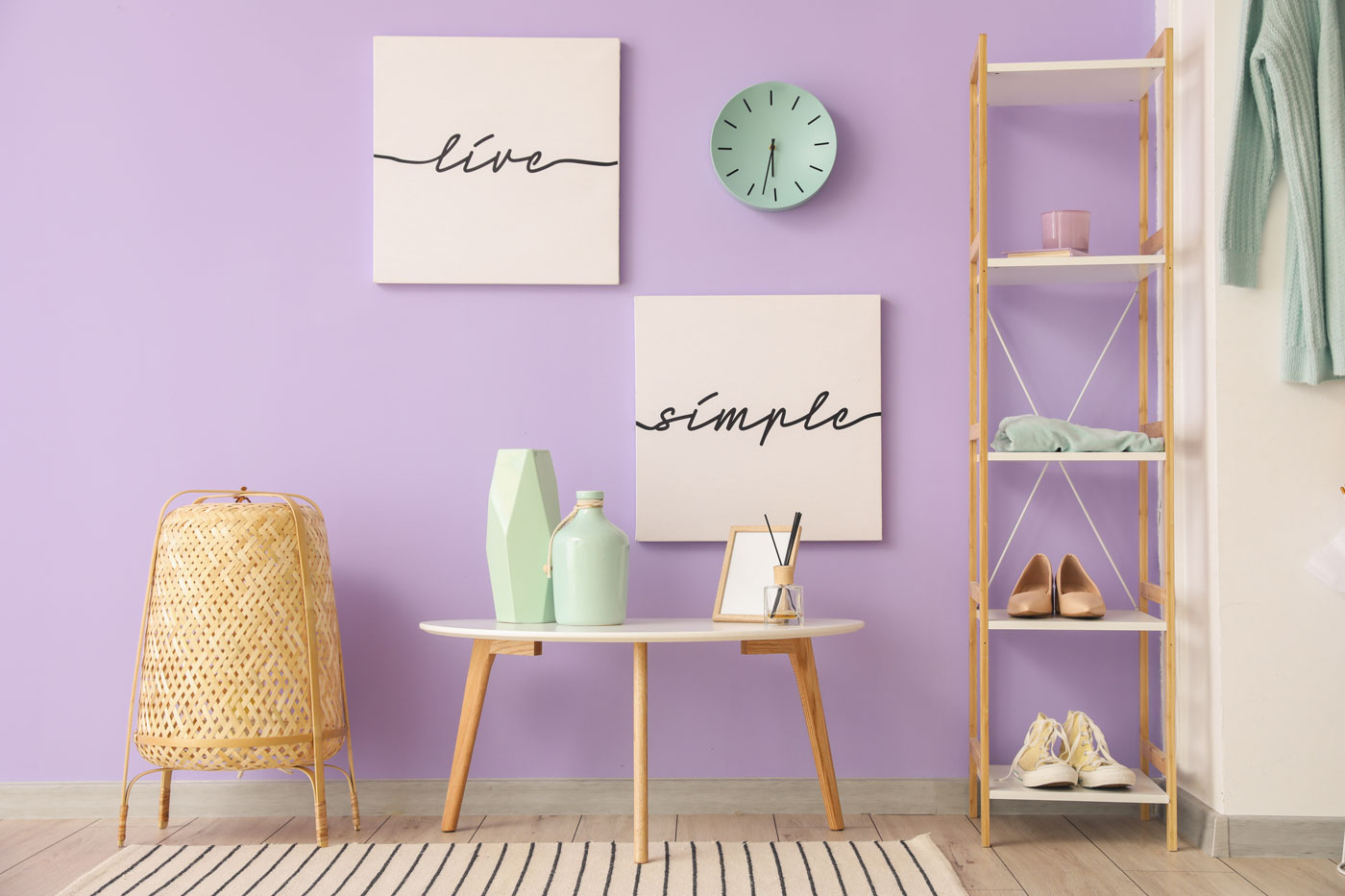color malva pareti