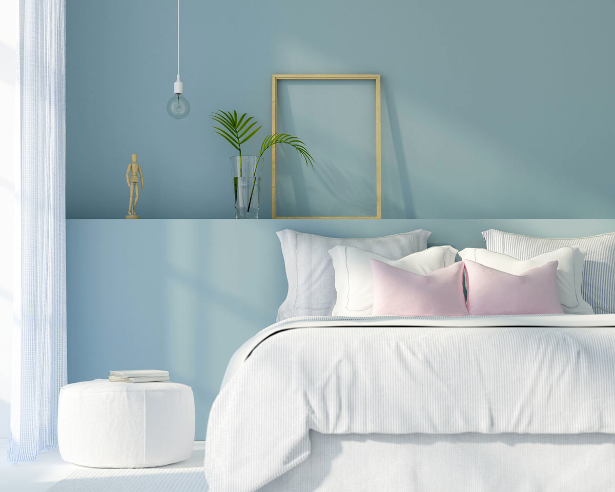 Scegliere il colore delle pareti per la camera da letto