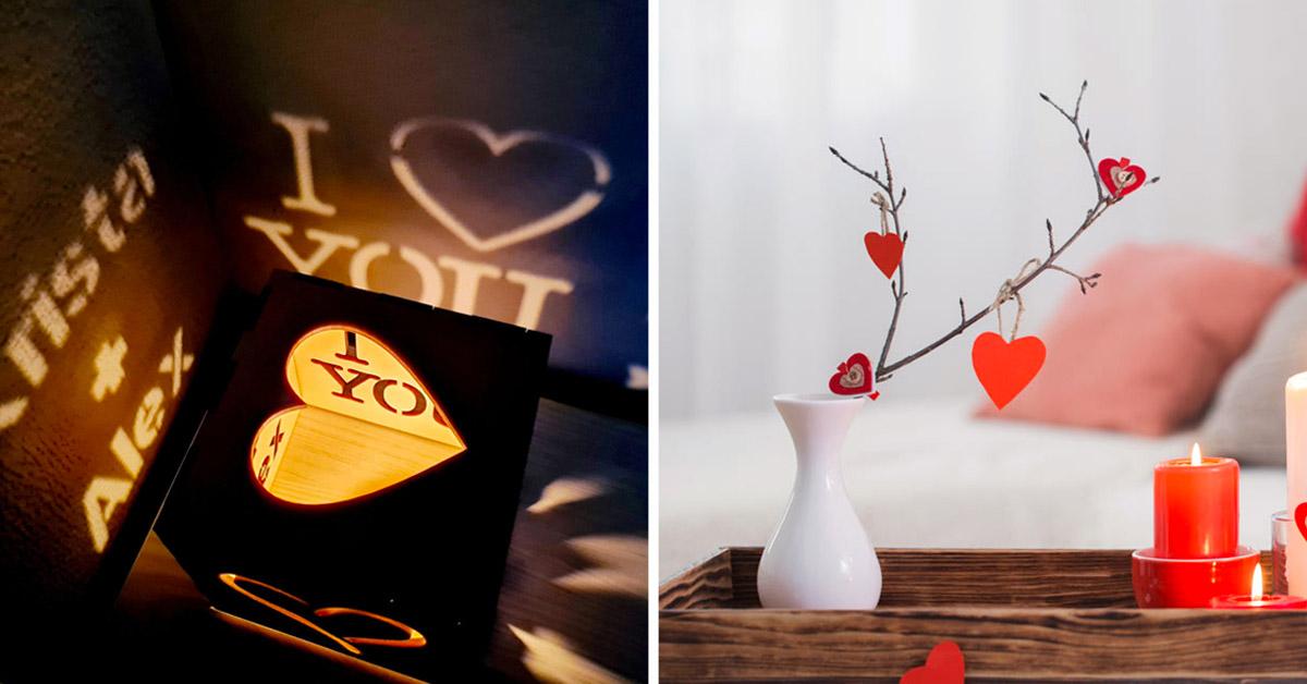 decorare casa per la San Valentino