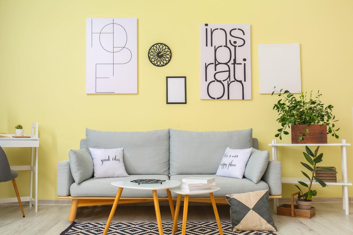 Le pareti color pastello: un tocco di buon umore in casa
