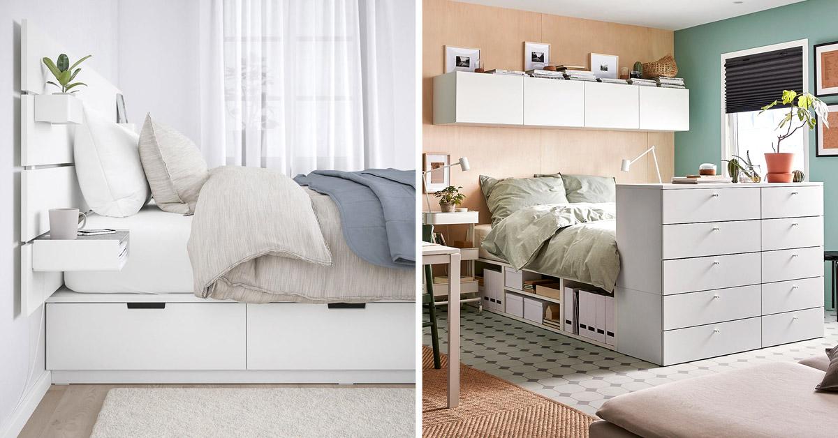 Struttura letto IKEA.