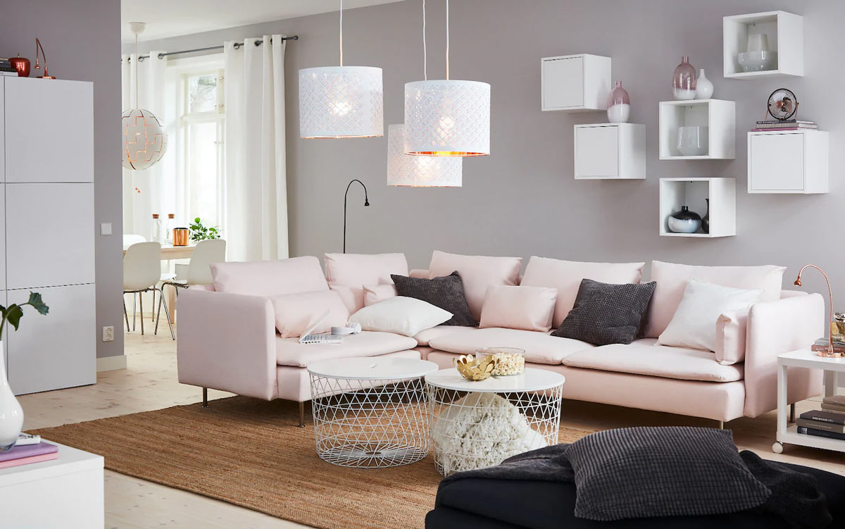 tavolino da salotto IKEA rotondo