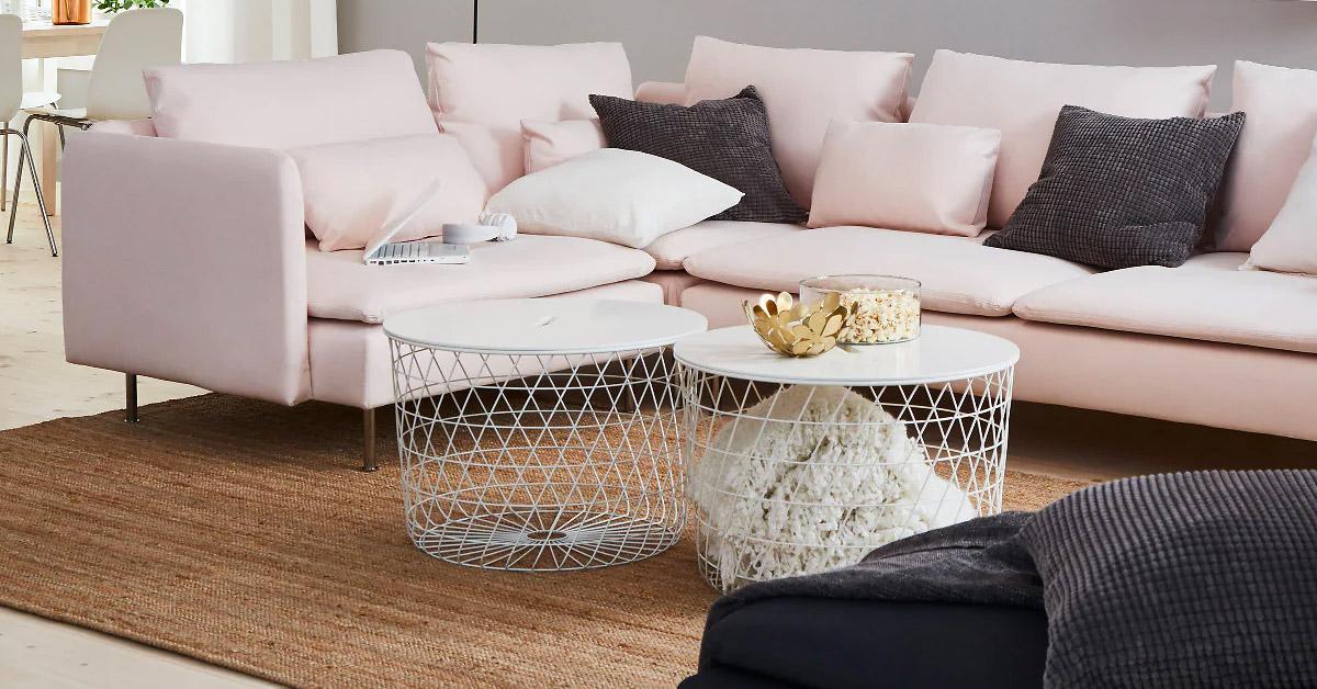 Un tavolino da salotto IKEA: il design per tutte le tasche