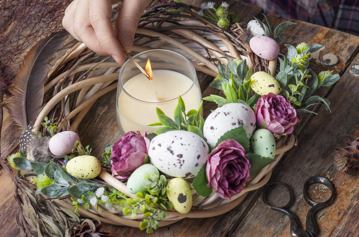 Centrotavola per Pasqua idee fai da te.