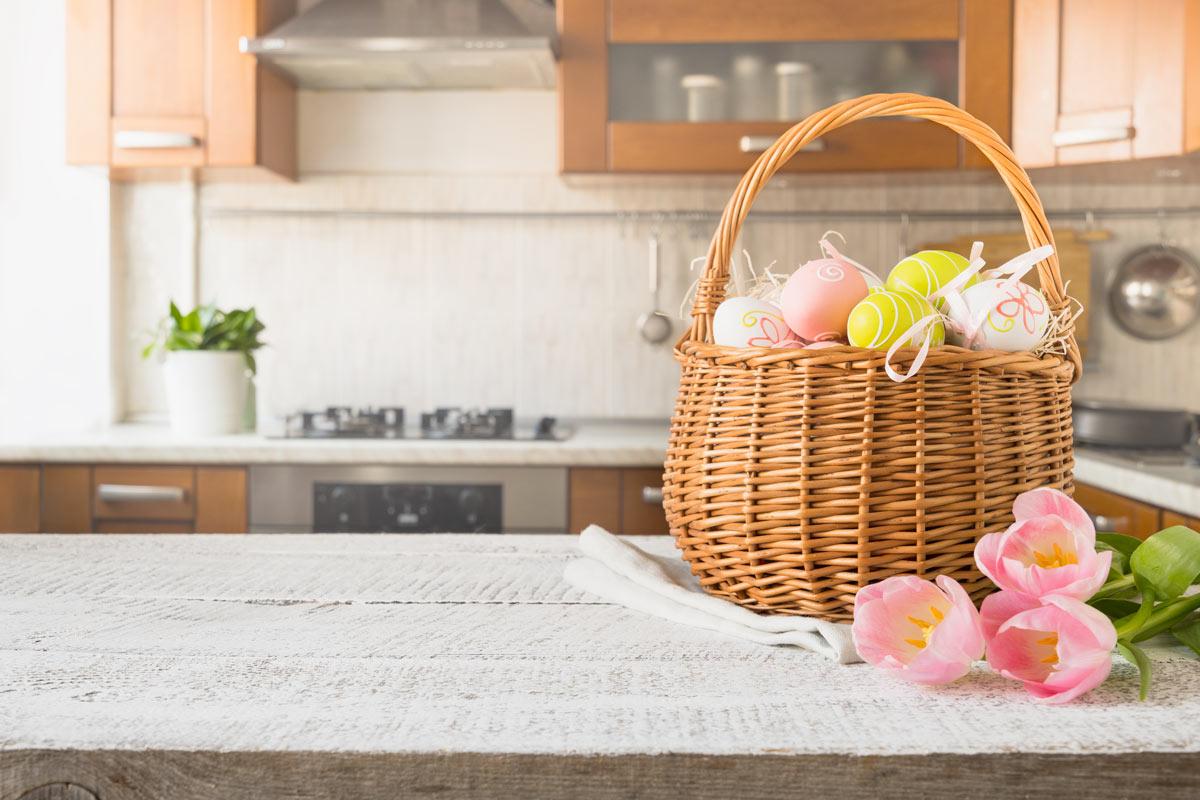 Il cesto di Pasqua.