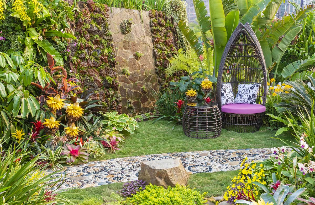 Come allestire un giardino da sogno
