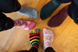 riciclare i calzini spaiati