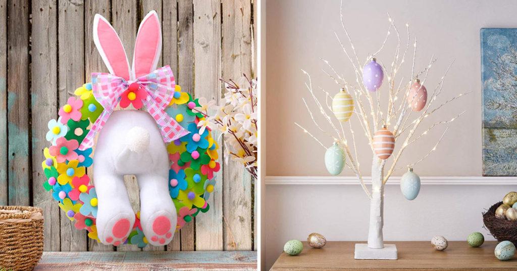 Decorazioni sfiziose per Pasqua.