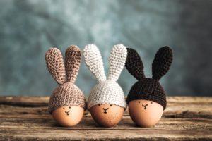 lavoretti di Pasqua all'uncinetto