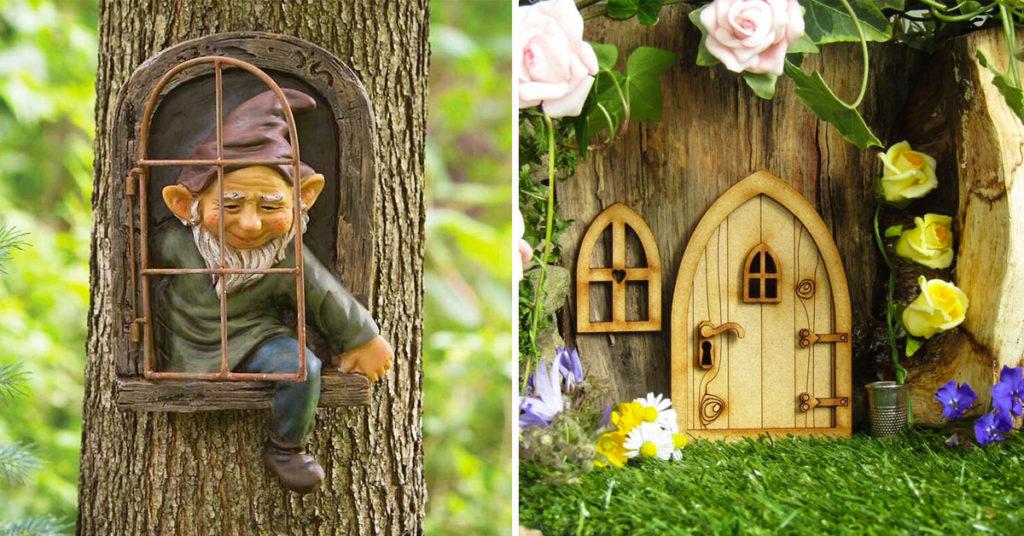 Idee divertenti per decorare il giardino.