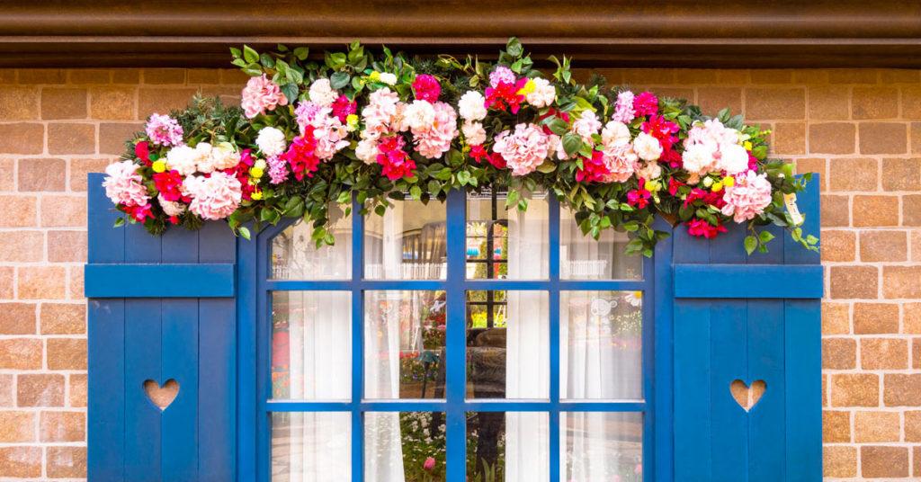 fiori finestre