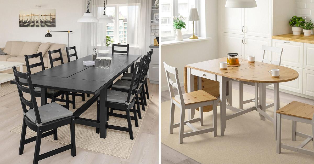 Tavoli allungabili IKEA