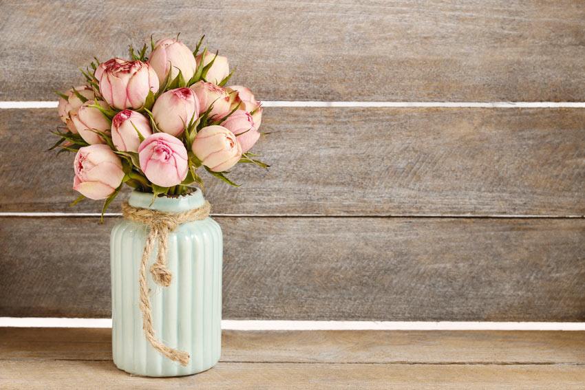 fiori casa stile shabby chic