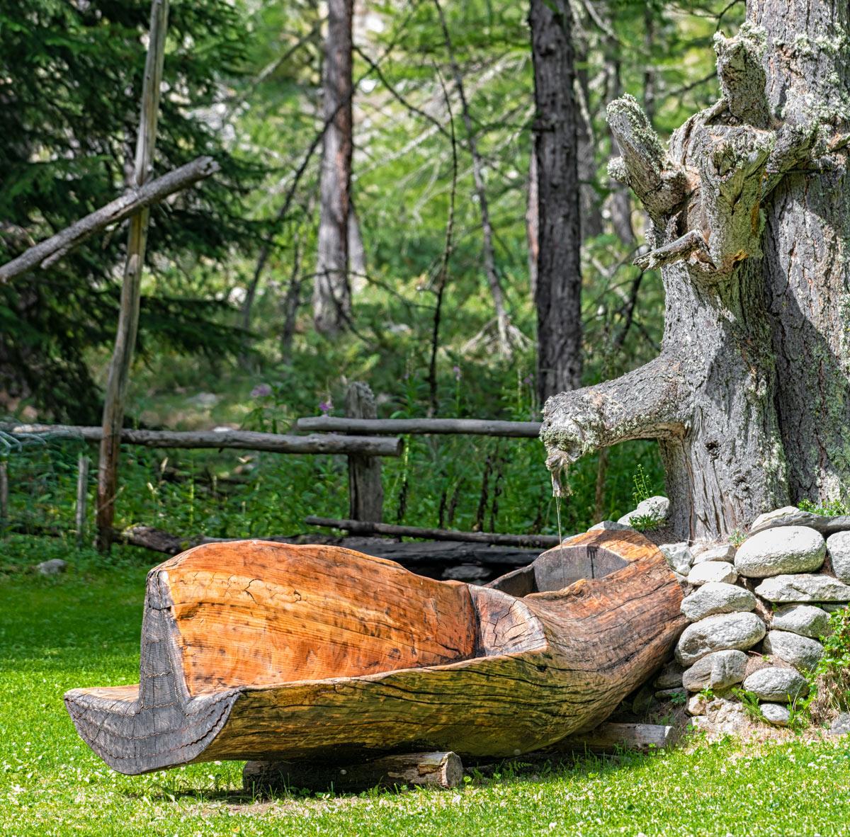 fontana in legno fai da te