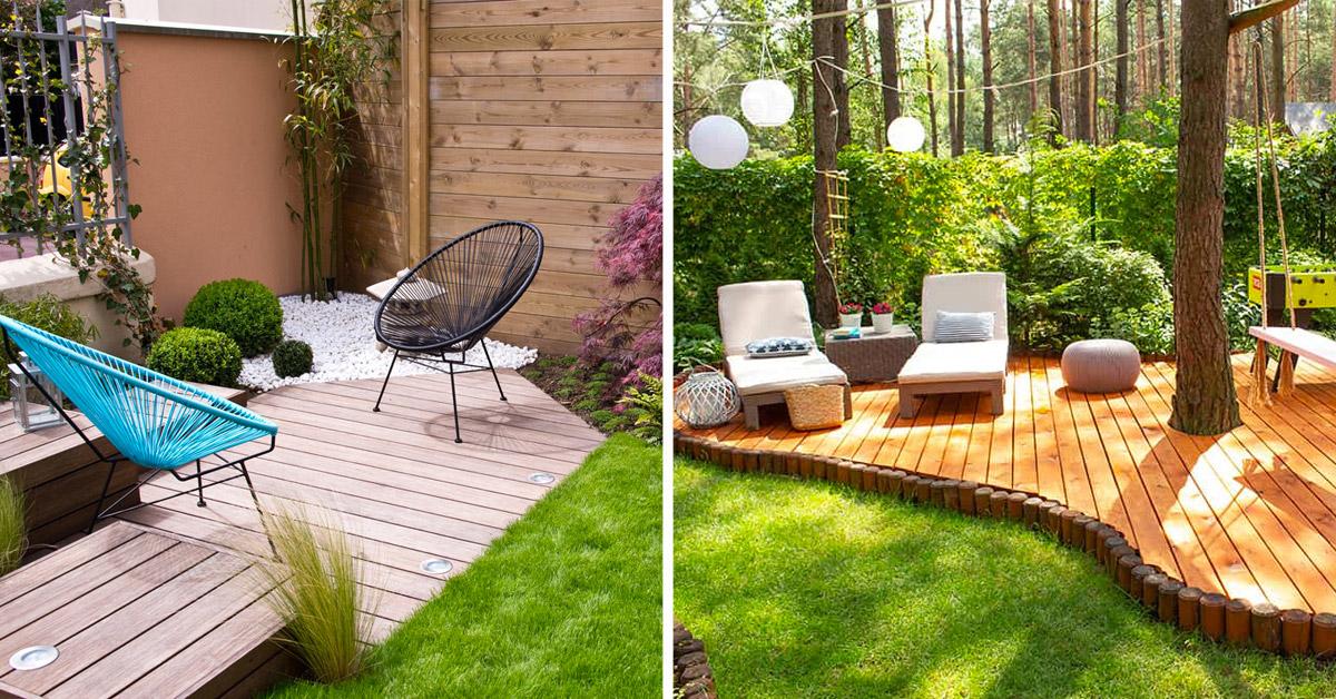 Pavimentazione in giardino.