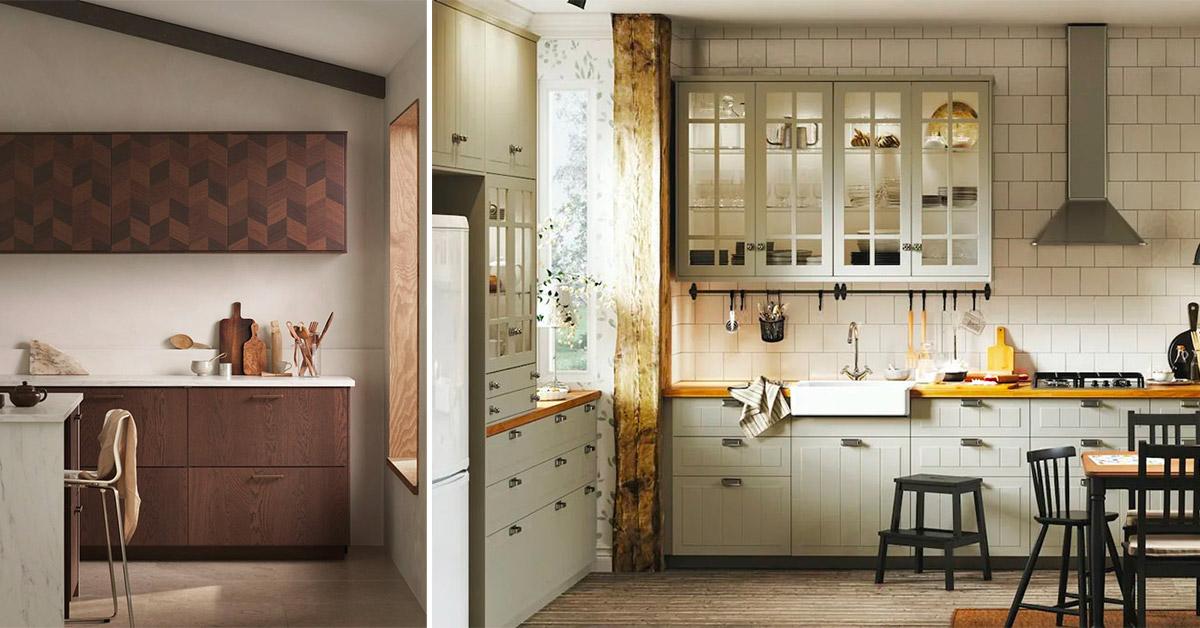 Pensili Ikea per cucine belle e funzionali