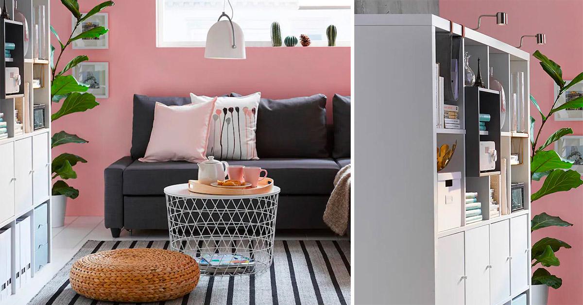 Arredare il soggiorno con mobili Ikea con meno si 600 euro