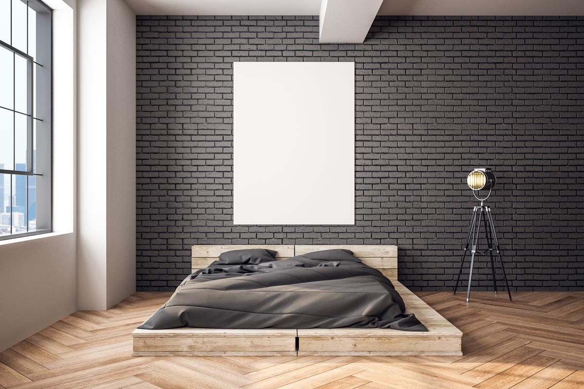 come arredare una camera da letto in stile industriale