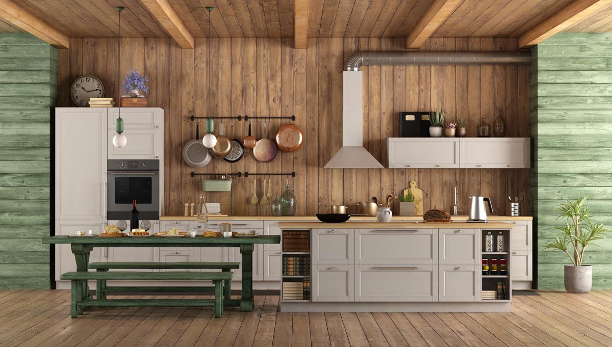 cucina rustica idee per la casa