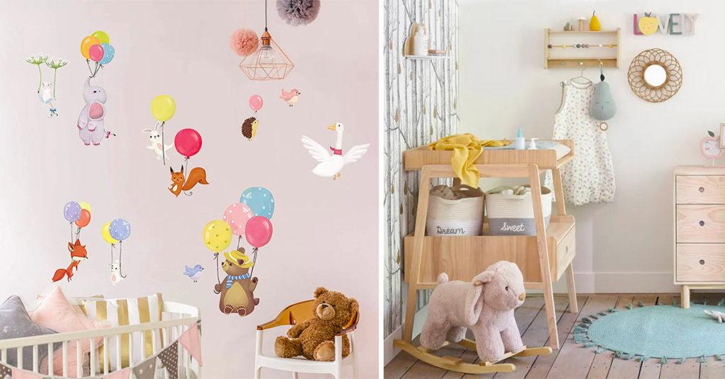 Camerette neonati: tante idee di decorazioni uniche per rendere la cameretta accogliente