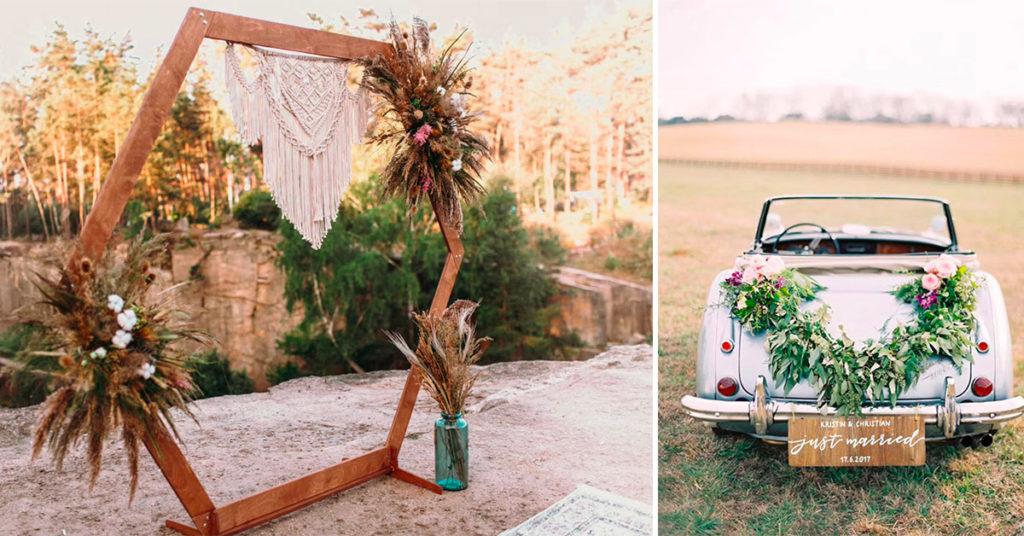 5 idee di decorazioni shabby chic per un matrimonio davvero romantico