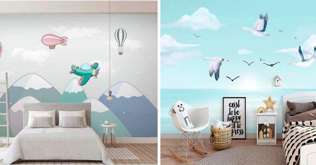 Come decorare le pareti della cameretta con la carta da parati: 9 proposte