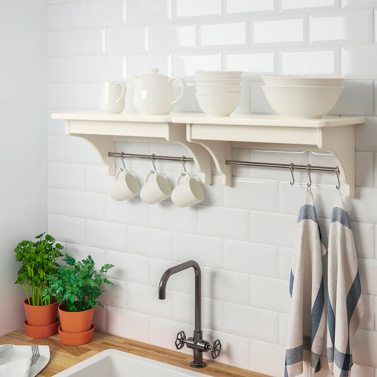 mensole per cucina Ikea