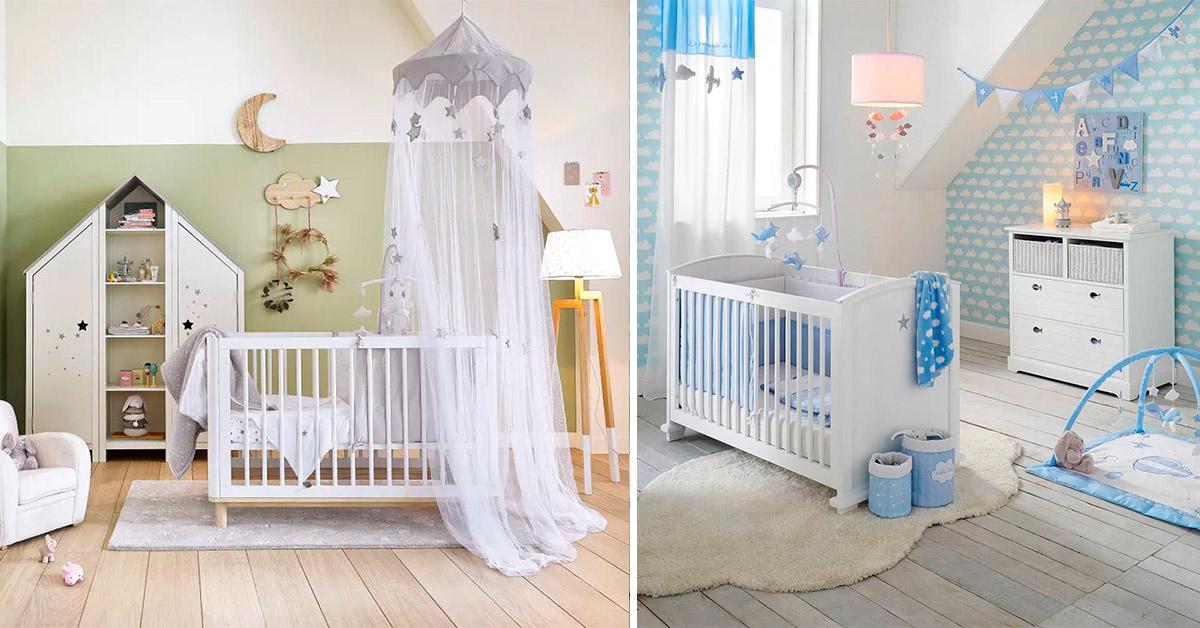 idee e soluzioni per arredare la cameretta dei bebé con le soluzioni maisons du monde