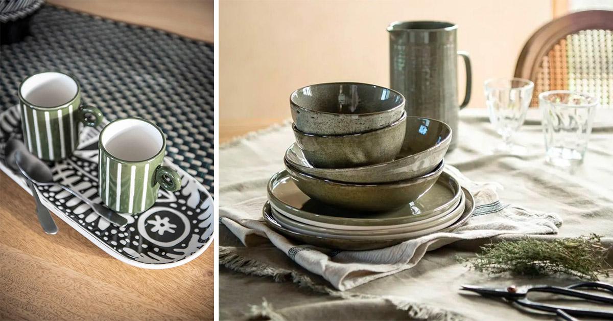 Preparare la tavola con gusto con la nuova collezione Maisons du Monde