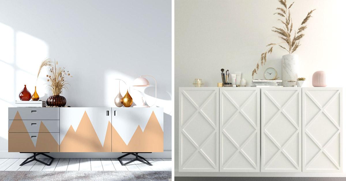 Personalizzare mobile Ivar di Ikea fai da te.