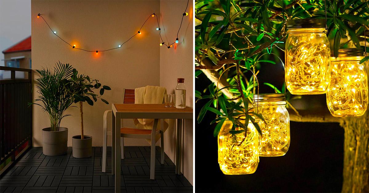 Idee per illuminare il portico e rendere le serate estive davvero speciali