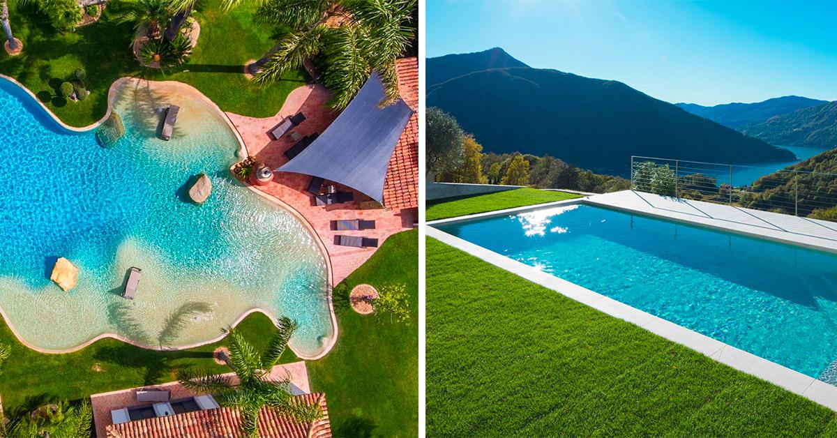 6 proposte di piscine interrate per rendere il vostro giardino unico e speciale