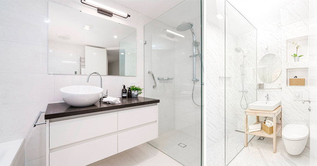 Alcuni consigli per far apparire più grande un bagno piccolo